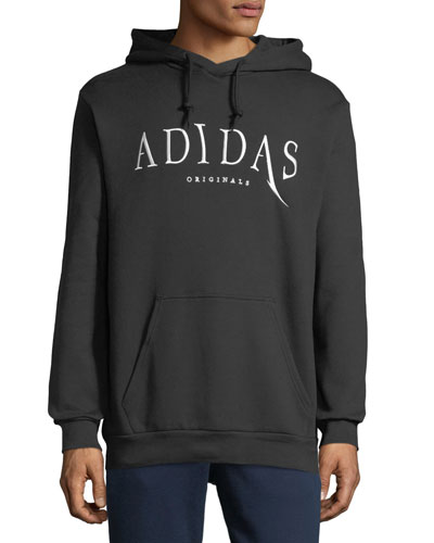 Embroidered Logo Pullover Hoodie
