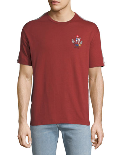 Men's Animals Jersey T-Shirt, Red
