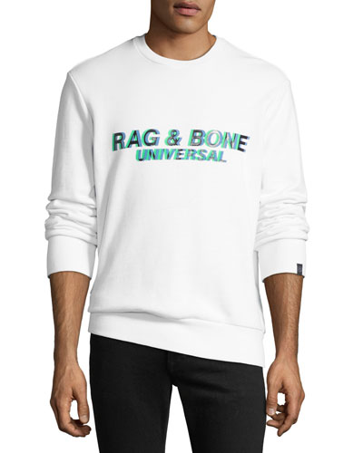 Men's Universal Glitch Logo Sweatshirt