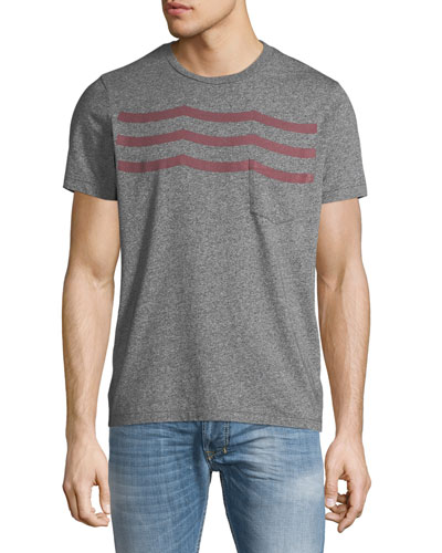 Men's Syrah Waves T-Shirt