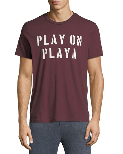 Men's Play On Playa Graphic T-Shirt