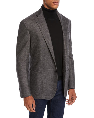 Men's Soft Herringbone Jacket