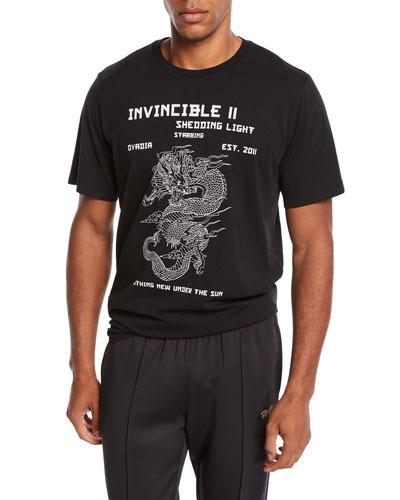 Men's Dragon Graphic T-Shirt