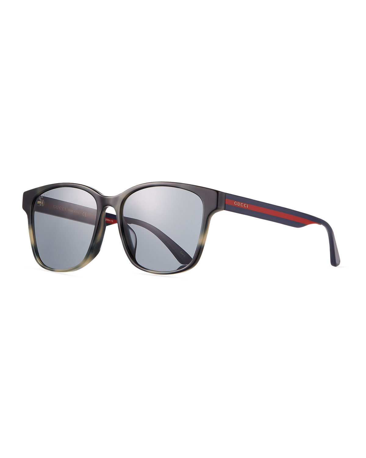 8741e71450a Gucci Men s Square Acetate Sunglasses