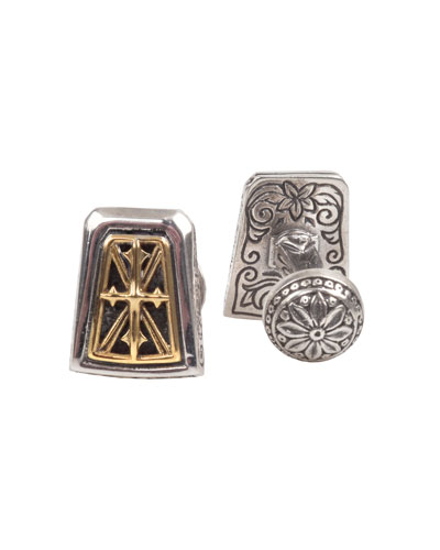 Men's Stavros Rectangle Cuff Links