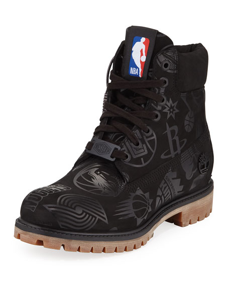 """Timberland Boots MEN'S EAST VS. WEST NBA 6"""" WORK BOOTS"""