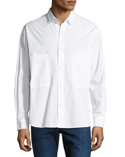 Men's Shiro Oversized-Pocket Shirt