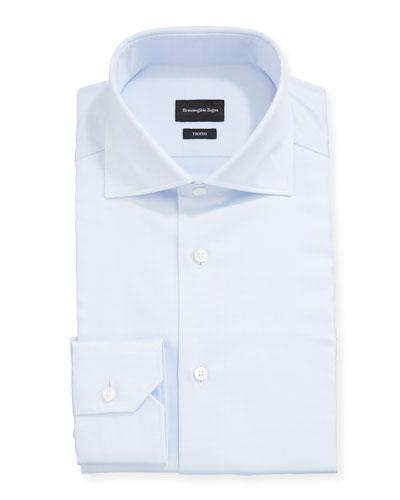 Men's Trofeo Solid Cotton Dress Shirt