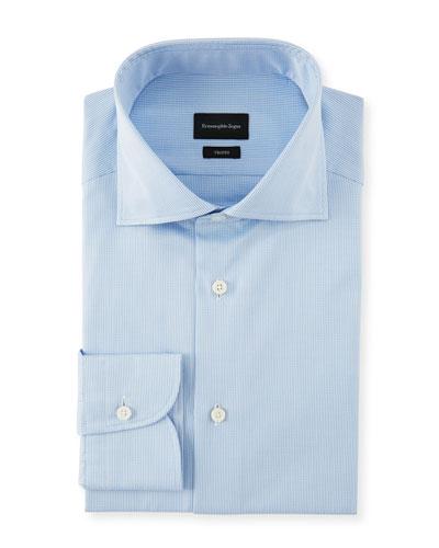 Men's Cotton Check Dress Shirt