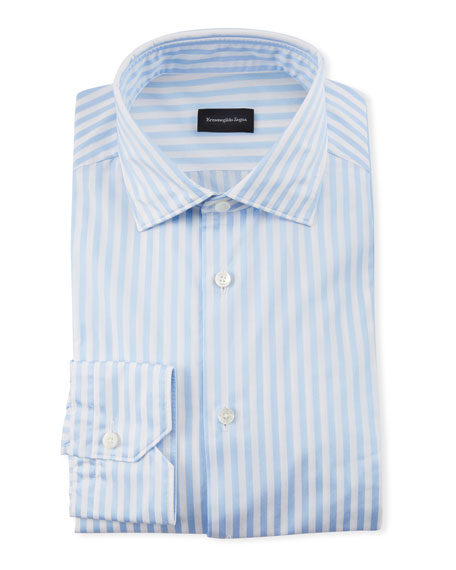Ermenegildo Zegna Men's Bengal Dress Shirt