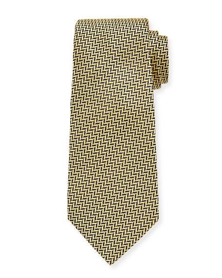Ermenegildo Zegna Men's Silk Graphic Tie