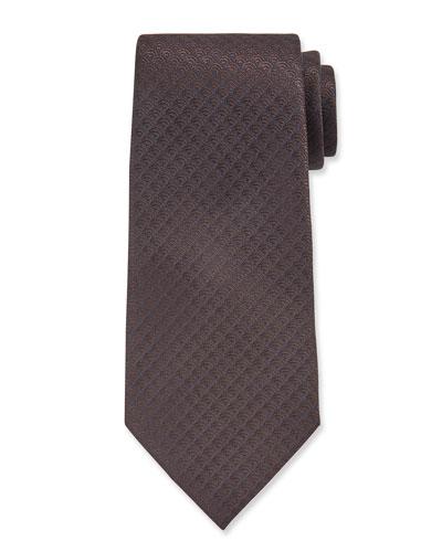 Men's Silk Rainbow Design Tie