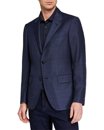 Men's ACHILLFARM High-Textured Blazer