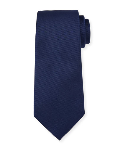 Solid Silk Twill Tie