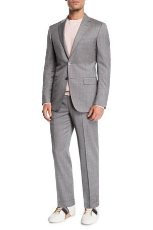 Ermenegildo Zegna Men's Tic Two-Piece Suit