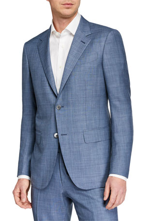 Ermenegildo Zegna Men's Two-Piece Solid Trofeo Summer Suit