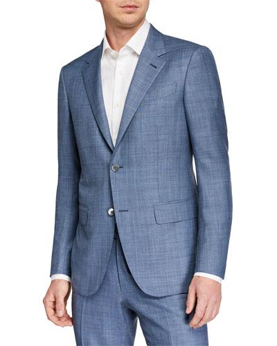 Men's Two-Piece Solid Trofeo Summer Suit