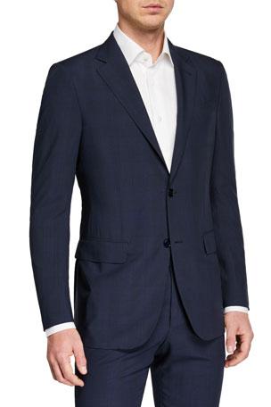 Ermenegildo Zegna Men's Leggerissimo Two-Piece Solid Wool-Silk Suit