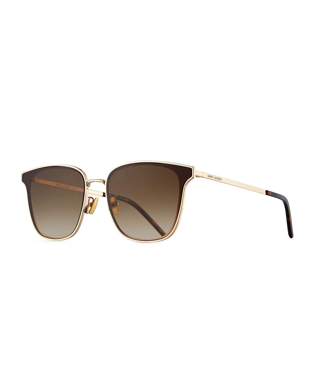 1dbed467d8 Saint Laurent Men s SL272 Metal Sunglasses - Gradient