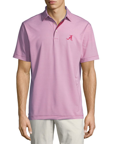 Men's University of Alabama Jubilee Stripe Polo Shirt