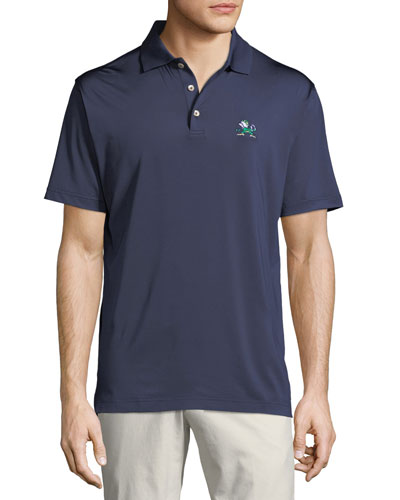Men's Notre Dame Fighting Irish Solid Polo Shirt, Navy