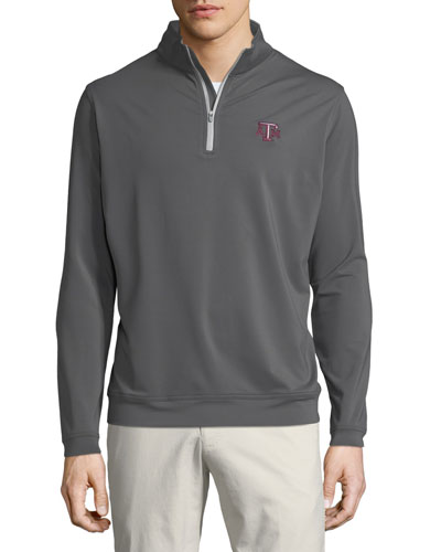 Men's Texas A&M Perth Solid Sweater, Dark Gray