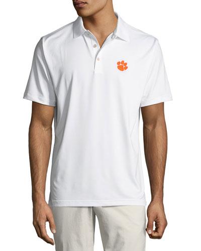 Men's Clemson University Solid Polo Shirt