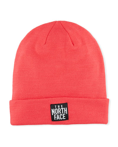 Men's Dock Worker Fold-Over Beanie  Pink