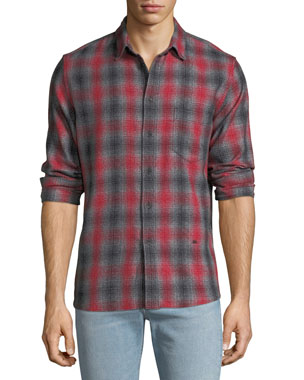358e07f5206133 Levi's Made & Crafted Men's Made & Crafted Plaid Standard Shirt