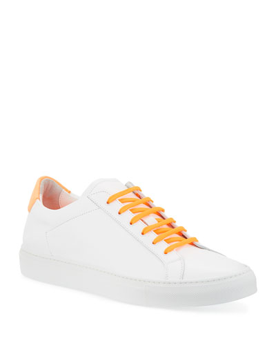 Men's Fluo Retro Low-Top Sneakers