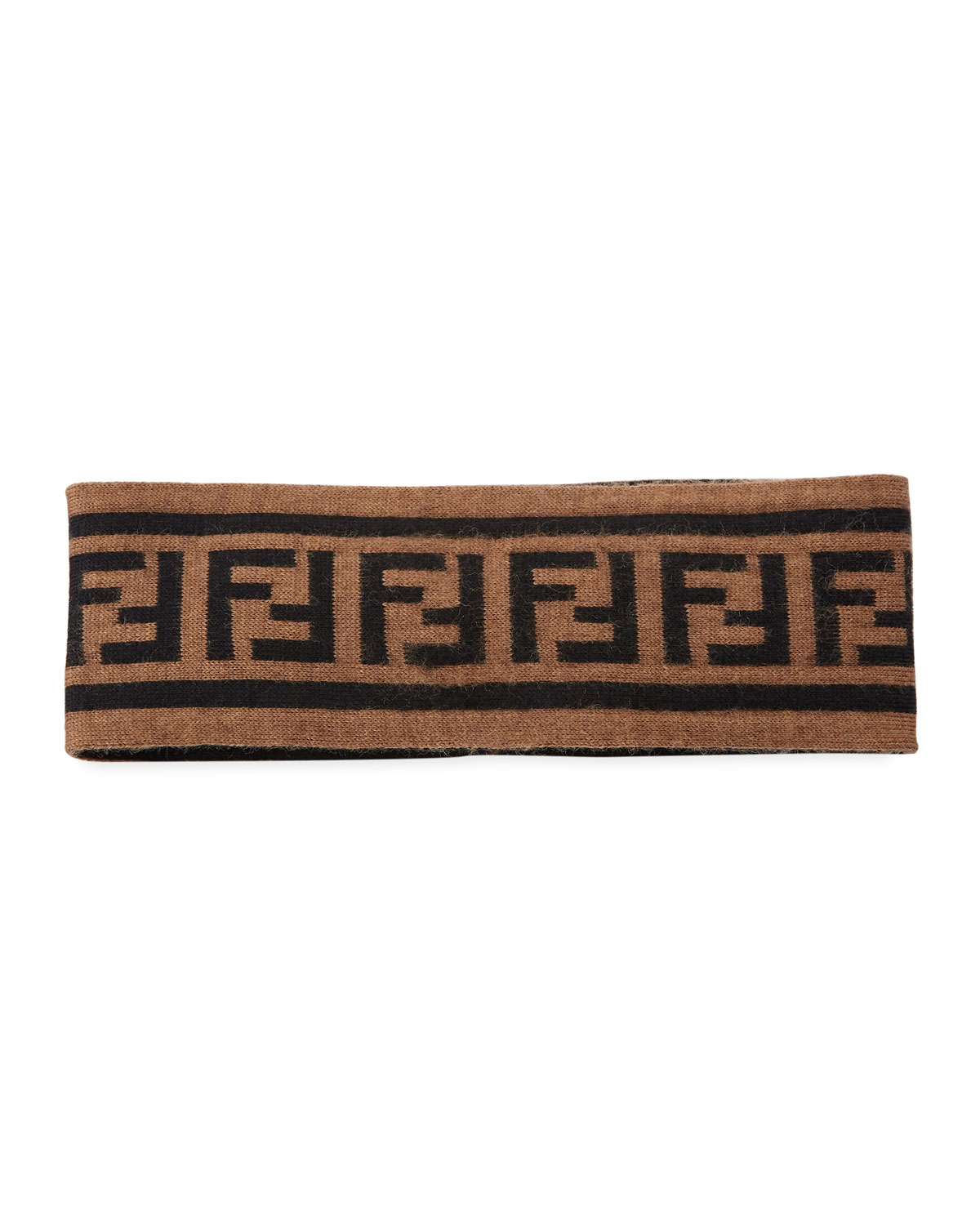 77d76826df9f5 Fendi Men s FF Vocabulary Wool Headband