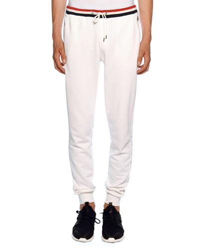 Men's Lounge Pants with Tricolor Trim