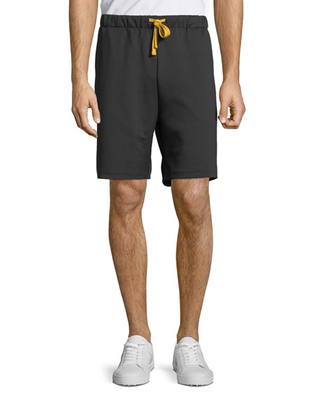 Ovadia & Sons Men's Contrast-Trim Track Shorts