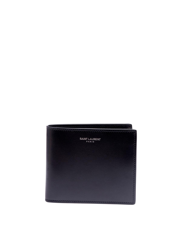 ba724cc3063 Saint Laurent Men's East-West Leather Wallet | Neiman Marcus