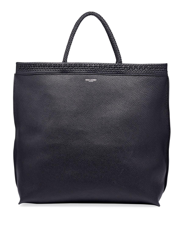 Saint Laurent Men s YSL Leather Tote Bag