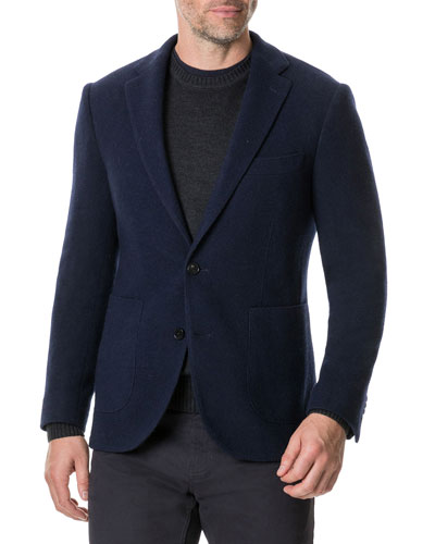 Men's Maud Island Wool Two-Button Jacket