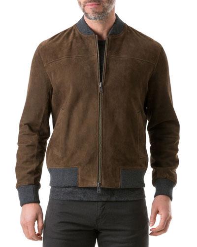 Men's Carter's Mill Suede Jacket