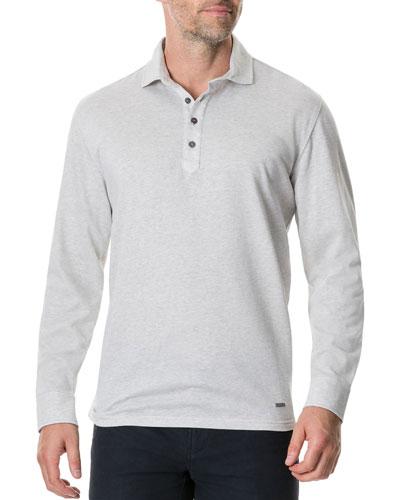 Men's Wellpark Avenue Long-Sleeve Polo Shirt