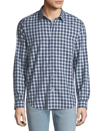 Men's Irving Flannel Check Sport Shirt