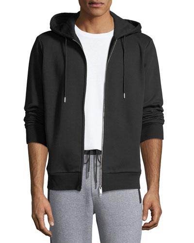 Men's Cure Fleece Essential Zip-Front Hoodie
