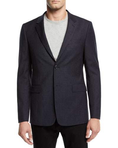 Men's Tonal Textured Suiting Jacket