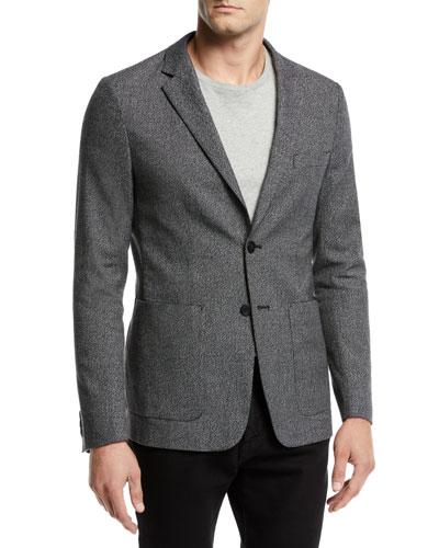 Men's Clinton Flecked Knit Jacket
