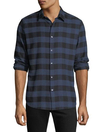 Men's Irving Check Flannel Shirt