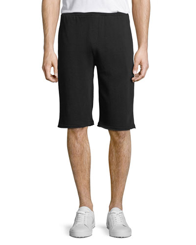 Men's French Terry Pull-On Shorts