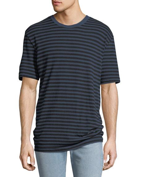 "Joe's Jeans Men's ""8"" Oversized Striped T-Shirt"