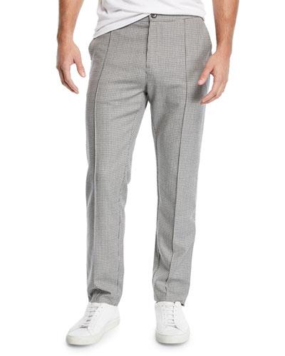Men's Sideline Check Track Pants