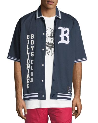 Men's Marquee Short-Sleeve Knit Shirt