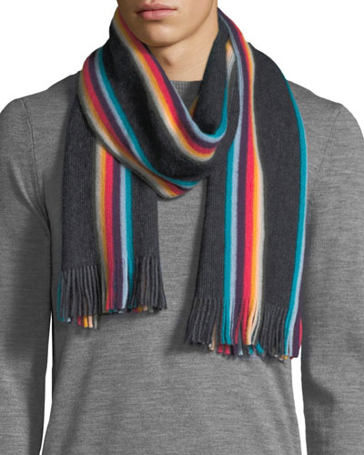 Men's Twisted Artist Scarf