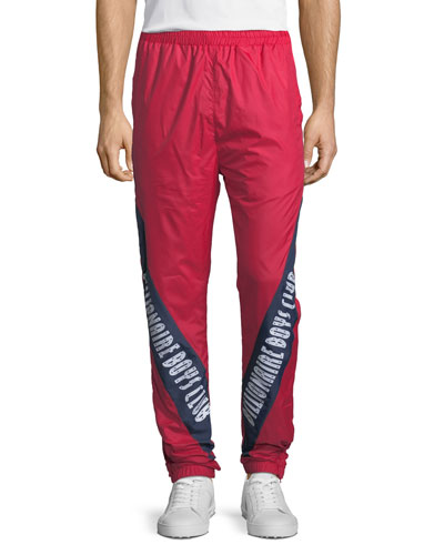 Men's Logo-Typographic Sprints Pants