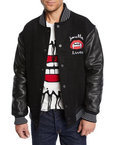 Men's Lost Breed Letterman Jacket